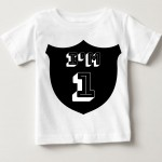 First Birthday Tshirt For baby 4