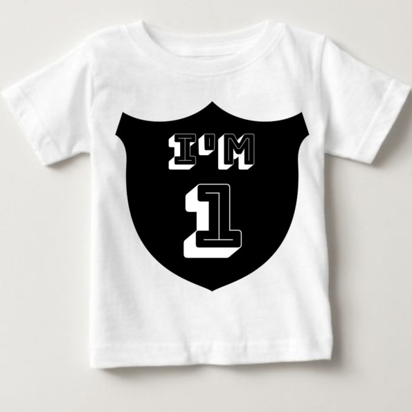 First Birthday Tshirt For baby