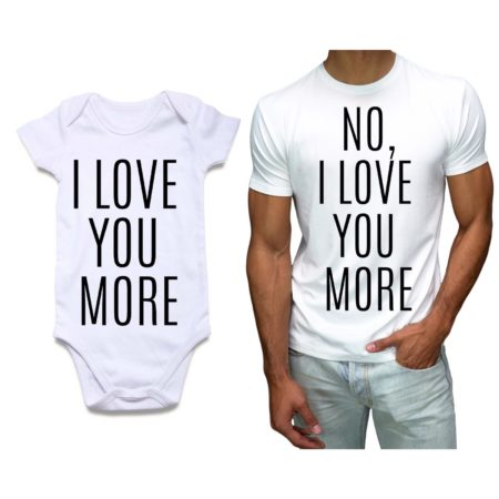 Baby romper and Mens Tshirt 1|knitroot