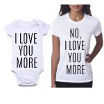Baby romper and Mens Tshirt 5 knitroot