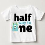 Half Way To One Kids T-shirts | knitroot