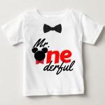 Kids T-shirts Mr One Derful | knitroot