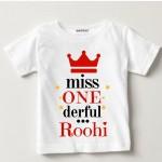 1st-birthday-T-shirts-Miss One Derful   Knitroot