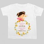 sister princess baby t-shirt | Knitroot