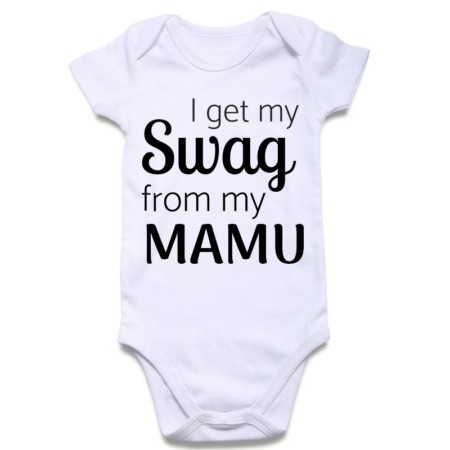 mamu-swag-baby-rompers | Knitroot