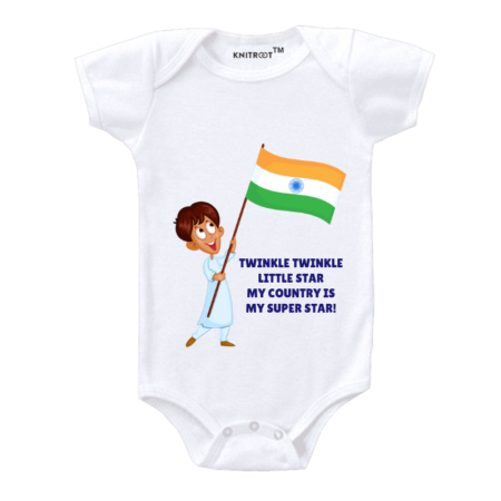 tri colour dress for independence day | Knitroot