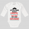 6 month baby clothes | custom baby onesie | Knitroot