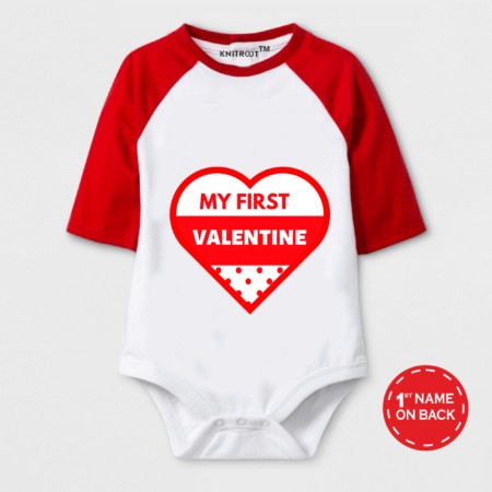 my first valentine day baby outfit | Knitroot