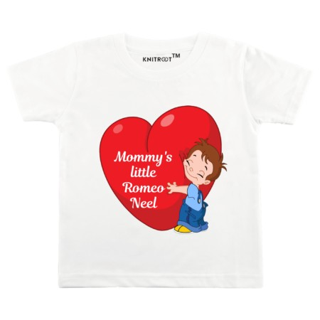 mommy's little romeo | kids clothes | t-shirt | Knitroot