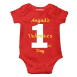valentine day special gift baby kids rompers
