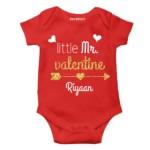 valentine week special gift baby romper