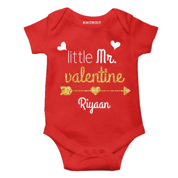 baby boy red romper   valentine day rompers   outfit   onesies   knitroot