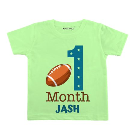 1 month baby t shirt