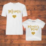 mom and baby girl combo t shirt india