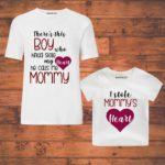 mom and son duo tees