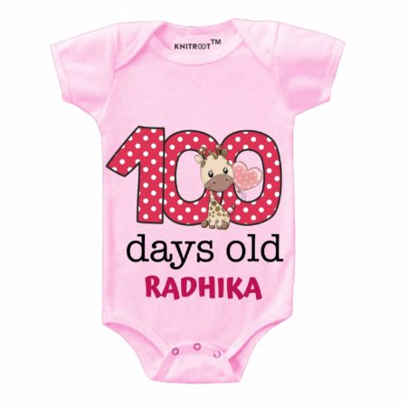 100 days old baby outfit for Photoshoot