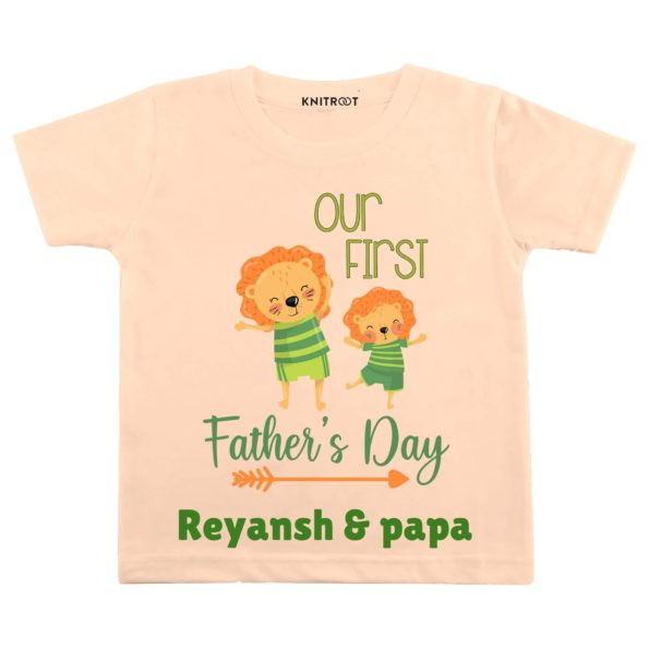 First Fathers Day T shirt