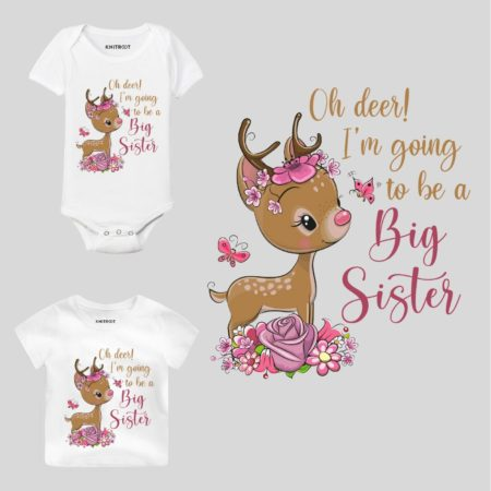 going to be a big sister t shirt