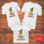 family t shirt set