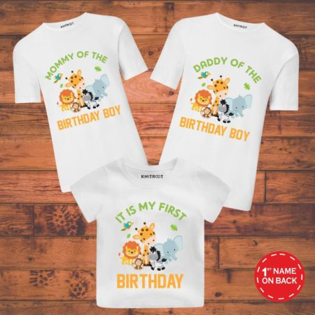 family dress set for birthday party