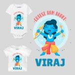 Cutest Ram Bhakt Baby Wear