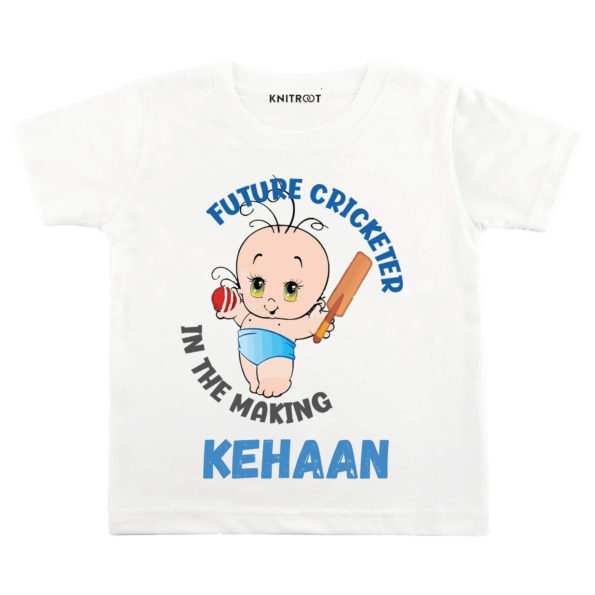 Future Cricketer In the Making Tshirt
