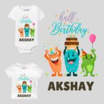 Half Birthday Party Theme Baby Clothes