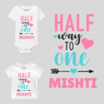 Half Way To One Baby Clothes