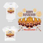 Happy Dussehra Theme Baby Wear