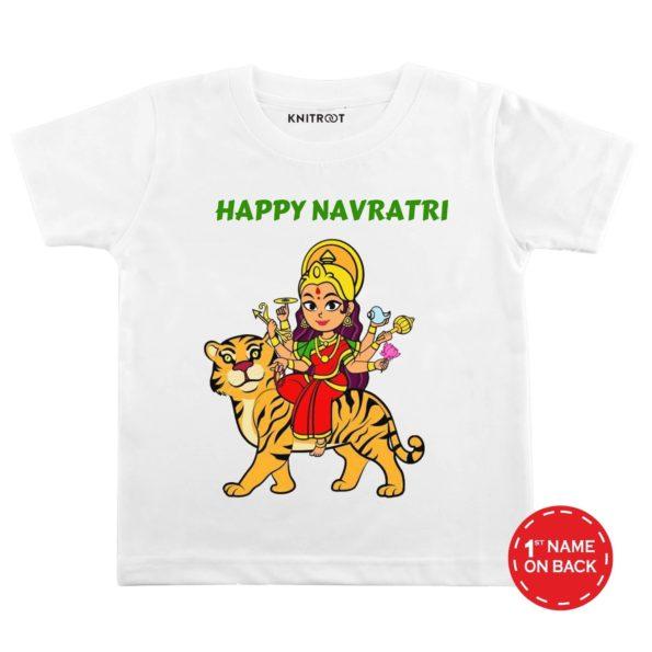 Happy Navratri Festival Design T-shirt