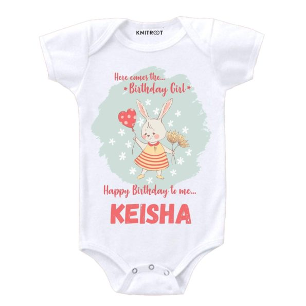 Here Come the Birthday Girl Onesie