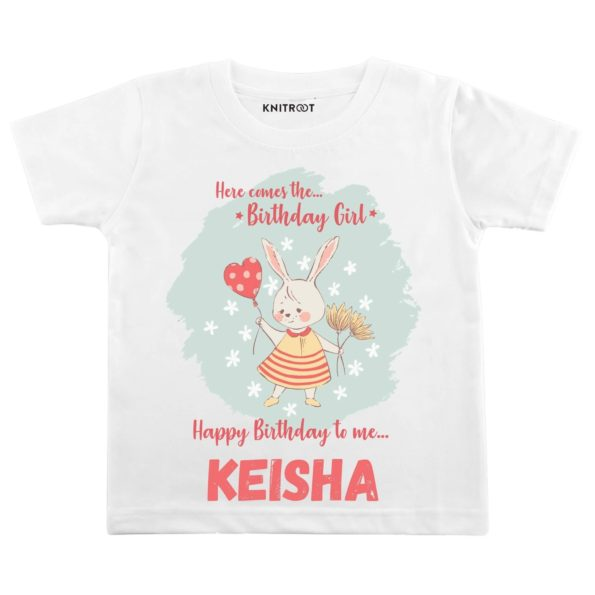 Here Come the Birthday Girl T-Shirt