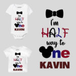 I am Half Way To One! Mickey Baby Clothes