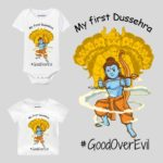 My First Dussehra #GoodOverEvil Baby Wear