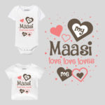 My Maasi Love Love Loves Me Baby Wear