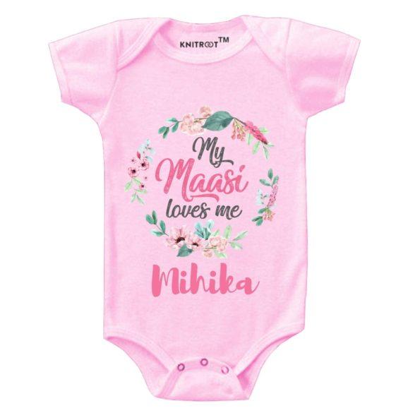 My Maasi Loves Me Onesie (Pink)