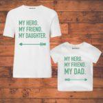 custom wear dad daughter combo