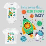 Here Comes The Birthday Boy 2 Baby Wear