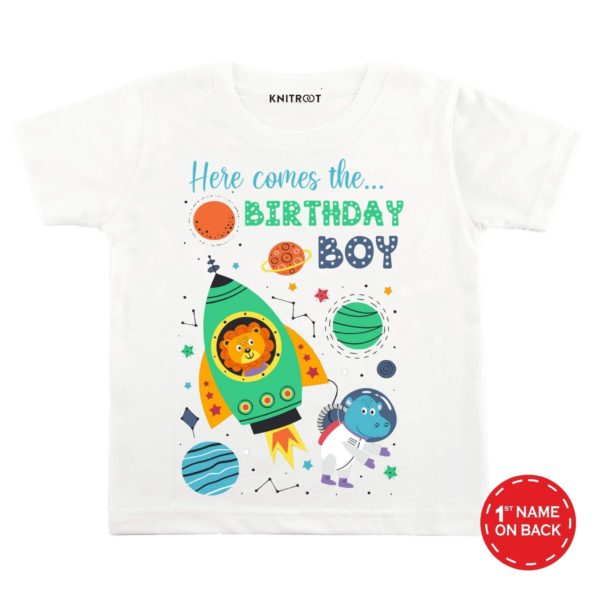 Here Comes The Birthday Boy 2 T-shirt