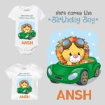 Here Comes The Birthday Boy Baby Wear
