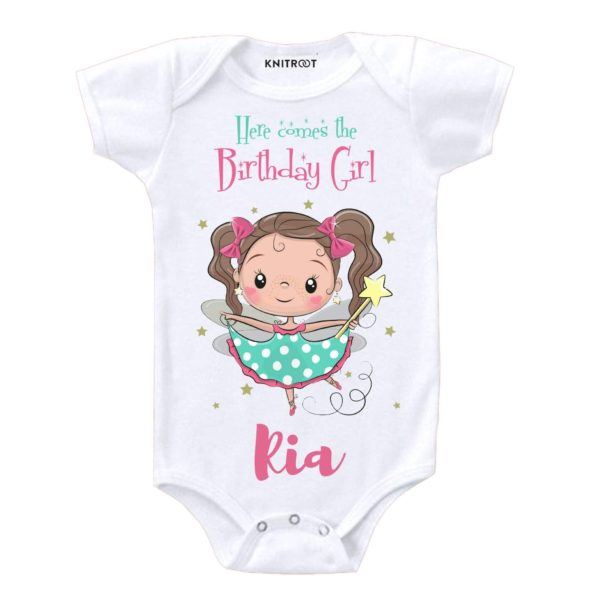 Here Comes The Birthday Girl 2 Onesie