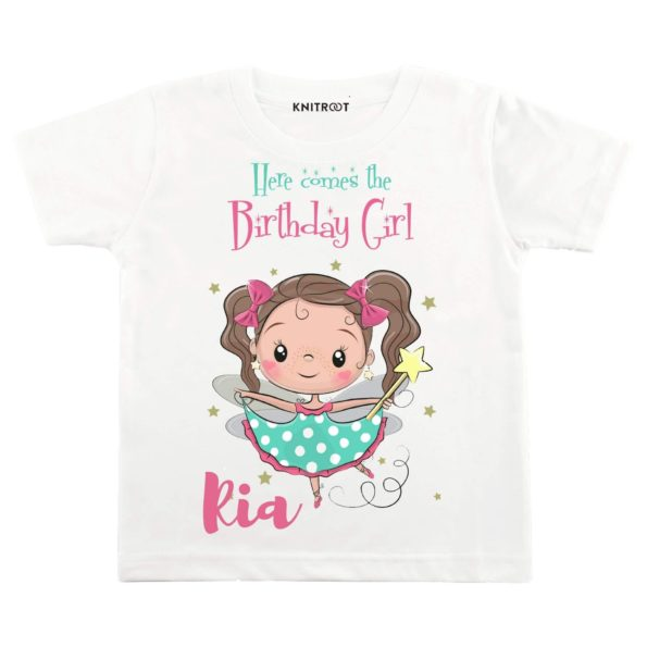 Here Comes The Birthday Girl 2 T-shirt