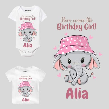 birthday girl baby outfit