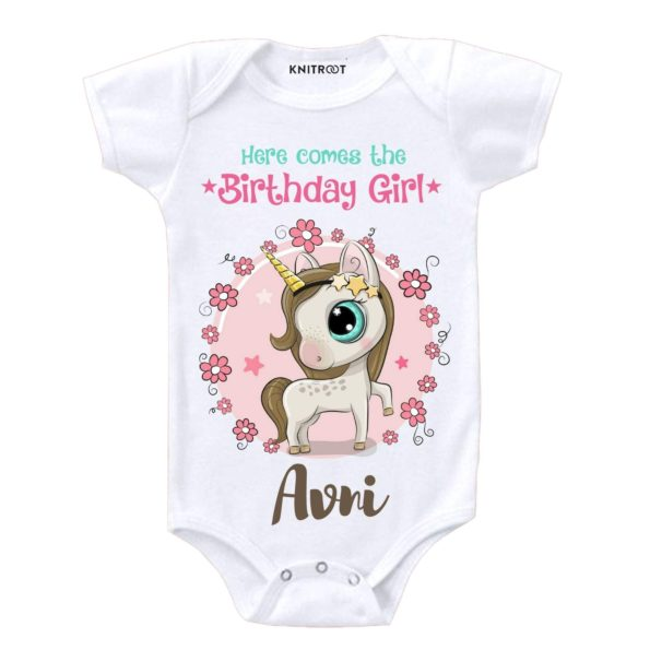 Here Comes The Birthday Girl Onesie