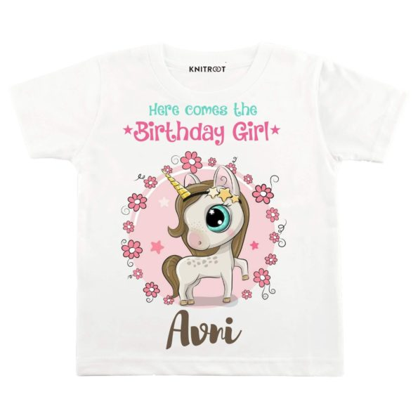 Here Comes The Birthday Girl T-shirt
