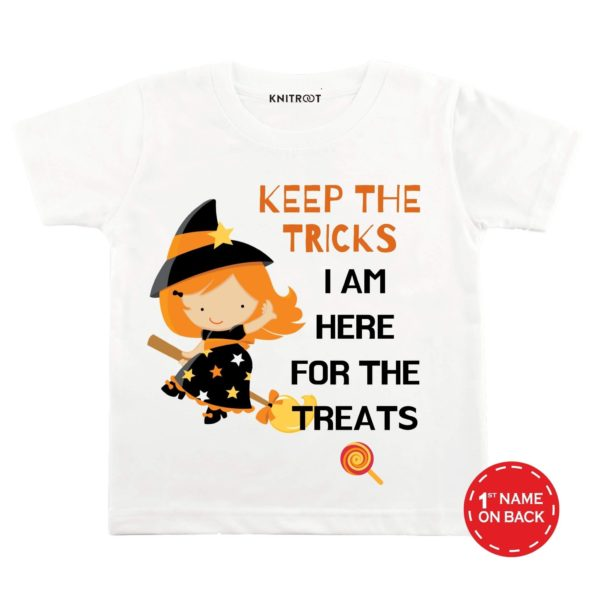 I Am Here For The Treats T-shirt