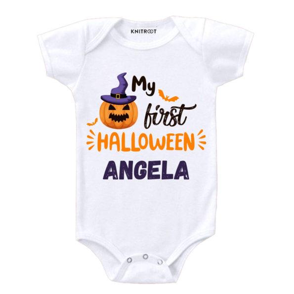 My First Halloween 2 Onesie