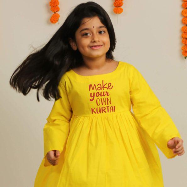 anarkali dress for kids girl