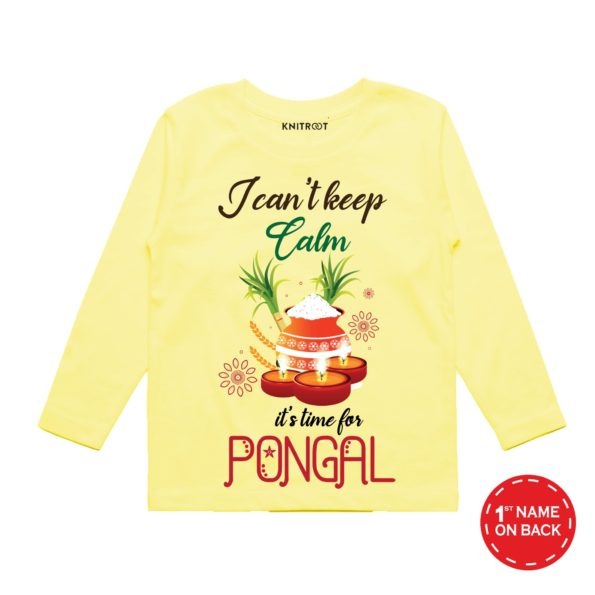Cant keep calm time for pongal