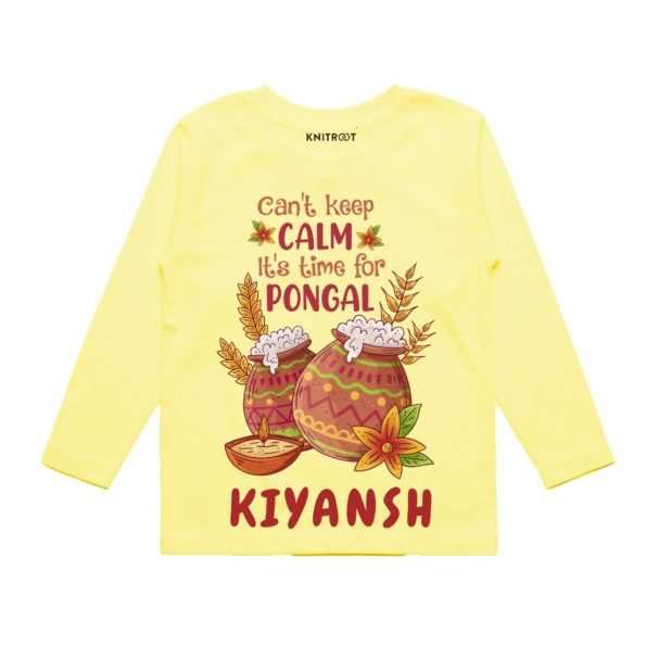 Cant keep calm time for pongal outfit
